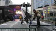 Through rain or sleet or snow, the show must go on